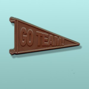 Chocolate Go Team Sports Banner Favor