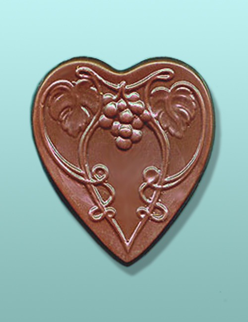 Chocolate Grapevine Heart Favor
