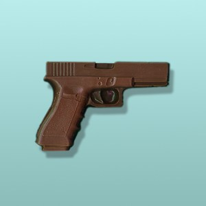 CHOCOLATE GUN FAVORS