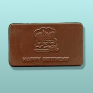 Chocolate Happy Birthday Mini Card II