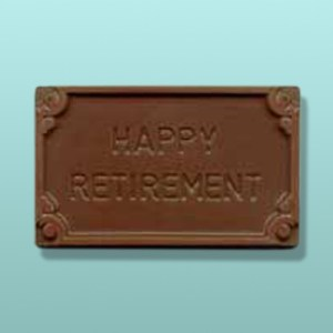 Chocolate Happy Retirement Mini Card I