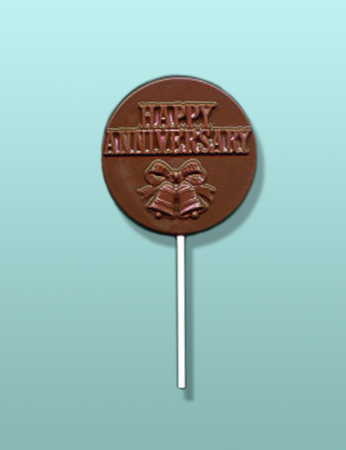 Chocolate Happy Anniversary Lolly II