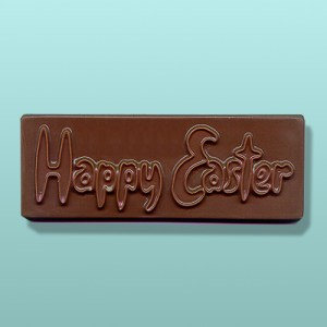 Chocolate Happy Easter Bar