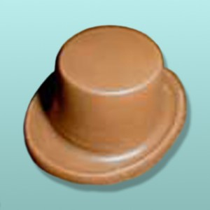 3D Chocolate Leprechaun Top Hat