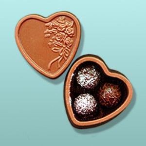 Chocolate Heart Box Favor