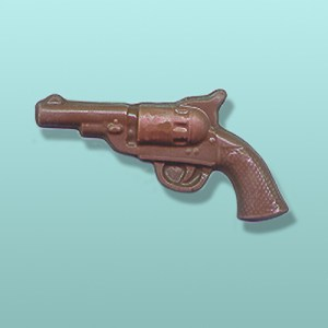 Chocolate Revolver Gun Favor