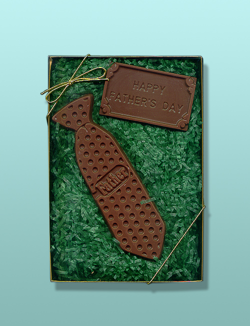 Chocolate Happy Fathers Day Tie Kit