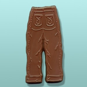 Chocolate Denim Blue Jeans