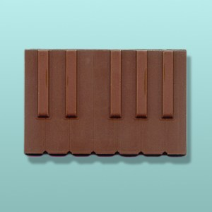 Chocolate Keyboard Keys Favor