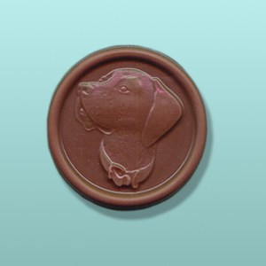 Chocolate Labrador Retriever Medallion I