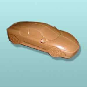 3D Chocolate Sports Car VII