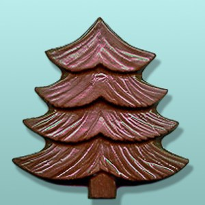 Chocolate Evergreen Tree Large Favor