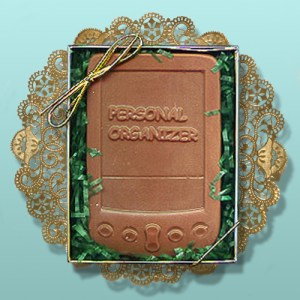 CHOCOLATE PERSONAL ORGANIZER FAVORS