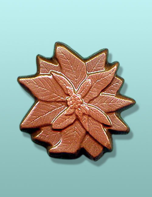Chocolate Poinsettia Large Party Favor
