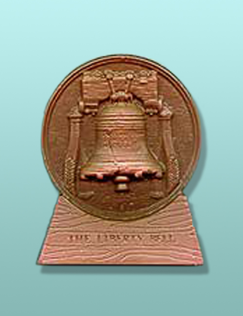 Chocolate Liberty Bell Plaque