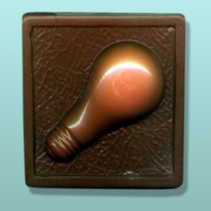 Chocolate Light Bulb Plaque