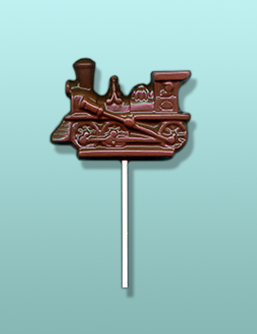 Chocolate Locomotive Train Lolly