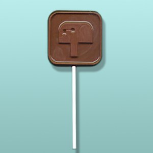 Chocolate Mailbox Symbol Party Favor