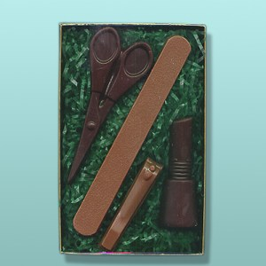 Chocolate Manicurist Nail Tech Small Gift Set