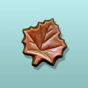 Chocolate Maple Leaf Medium Party Favor