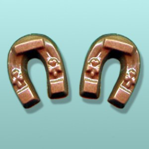 2 pc. Chocolate Lucky Horseshoe Favor