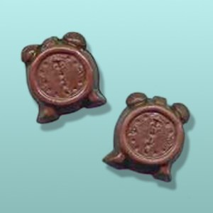 2 pc. Chocolate Alarm Clock Mini Favor I