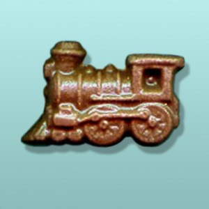 Chocolate Train Engine Mini Favor