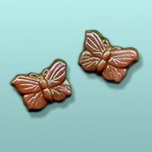 2 pc. Chocolate Butterfly Mini I Favor