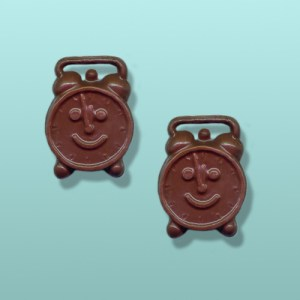 2 pc. Chocolate Alarm Clock Mini Favor II