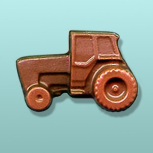Chocolate Tractor Mini Favor