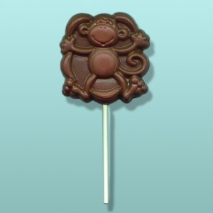 Chocolate Silly Monkey III Party Favor