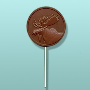 Chocolate Moose Medallion Party Favor