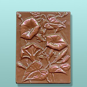 Chocolate Morning Glory Gift Plaque