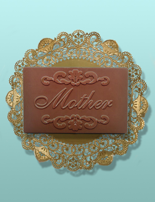 Chocolate Mother Plaque