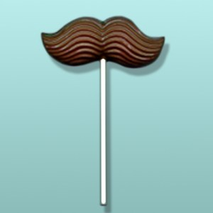 Chocolate Mustache Party Favor I