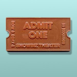 Chocolate Showbiz Movie Theatre Ticket