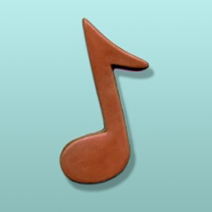 Chocolate Music Note Favor