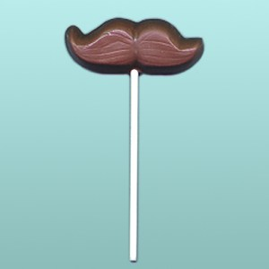Chocolate Mustache II Lolly