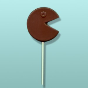 Chocolate Pac-Man Video Game Avatar