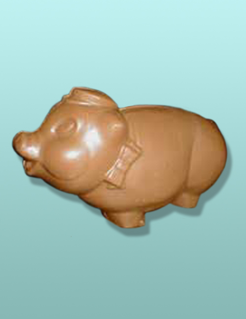 3D Chocolate Piggy Bank Porker X-Large
