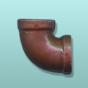 Chocolate Pipe Elbow Joint Favor