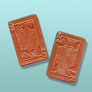 Chocolate Playing Card Favor