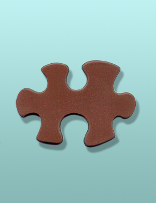 Chocolate Puzzle Piece Party Favor