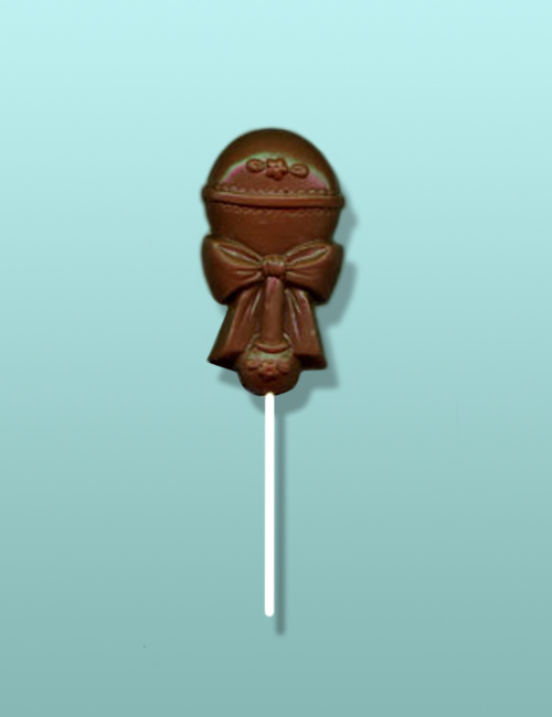 Chocolate Baby Rattle Party Favor I