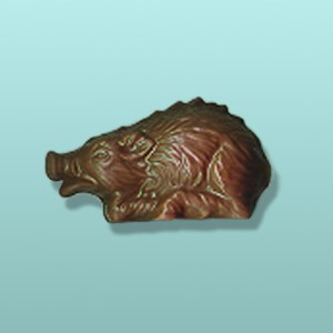 Chocolate Razorback Hog Large Party Favor