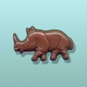 Chocolate Rhino II Party Favor