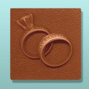 Chocolate Diamond Ring Set Plaque