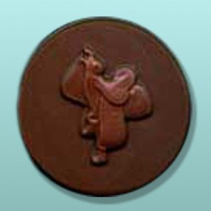 Chocolate Saddle Round Favor