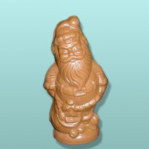 3D Chocolate Santa with Toy Sack