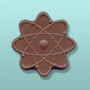 Chocolate Atom Science Favor